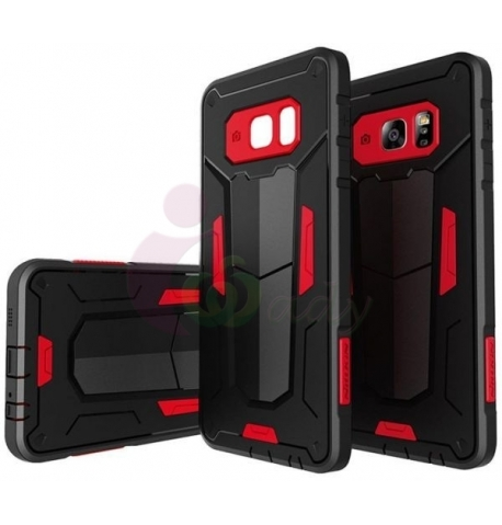 new arrival 2bbd4 aa0e4 Original Defender Shockproof Case for Samsung Galaxy S7 Edge - Red -  iWady.com
