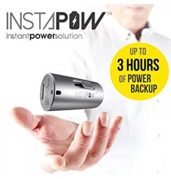 INSTAPOW CORDLESS MICRO USB POWERBANK 800MAH - INSTANT POWER SOLUTION