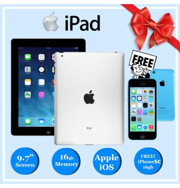BUY 1 TAKE 1 FREE! Apple iPad 2 16GB + iPhone 5c 16GB