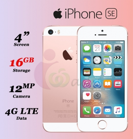 Apple IPhone SE 16GB With Facetime, 4G LTE [V.O.R]