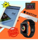 Buy 1 Get 1 Free! Original Apple Watch + Original Apple iPad