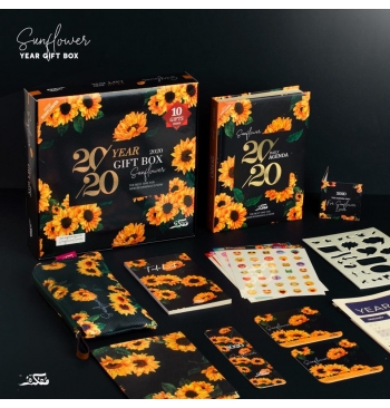 Sunflower Design 2020 Planner Gift Set