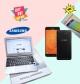 Samsung Chromebook with Samsung Galaxy J7 Prime 2 32gb