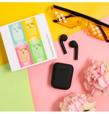 inPods 12 Bluetooth Headset [BLACK]