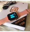 Smart Watch Waterproof T500 [PINK]