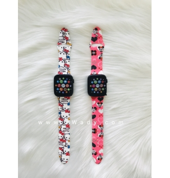 Printed Strap for Smart Watch T500