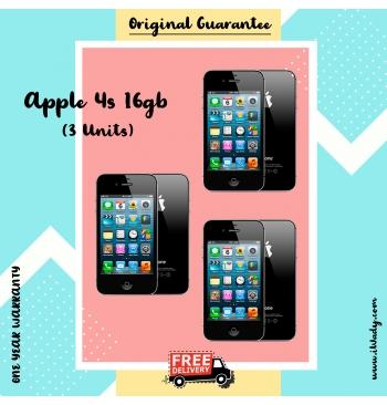 Apple iPhone 4s 16g [Set of 3 Units]