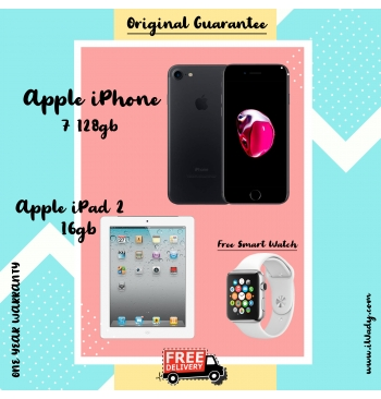 Apple iPhone 7 128gb + Apple iPad 2 16gb