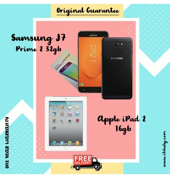 Samsung Galaxy J7 Prime 2 32gb + Apple iPad 2 16gb
