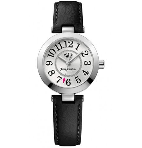 Juicy Couture Casual Watch For Women Analog Genuine Leather