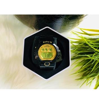 Casio Baby-G Black/Gold Ladies Watch