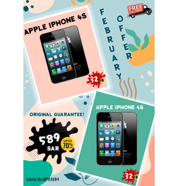 Apple iPhone 4s 32GB + Apple iPhone 4s 32GB