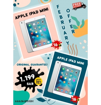 Apple iPad MINI 16GB + Apple iPad MINI 16GB