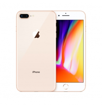 Apple iPhone 8 PLUS 64GB, 4G LTE - IP67 Dust & Water Resistant