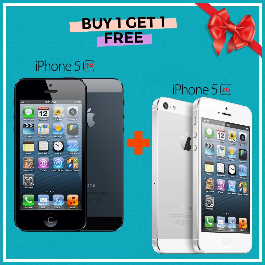 Buy 1 Get 1 Free! Original Apple IPhone 5 16gb + Original